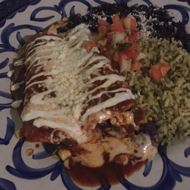 Frida's Beach House - Maui - Vegetarian Enchiladas