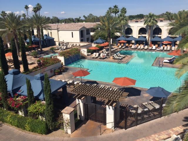 Omni Scottsdale pool babymoon