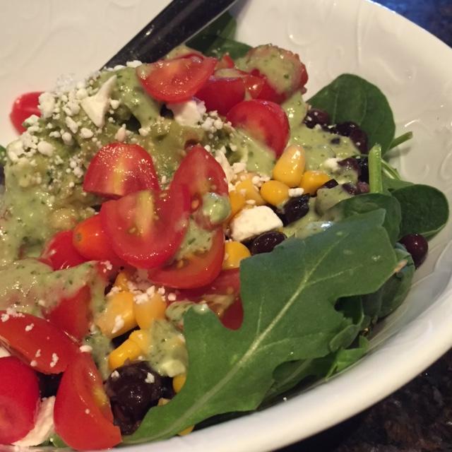 Tex Mex lunch salad