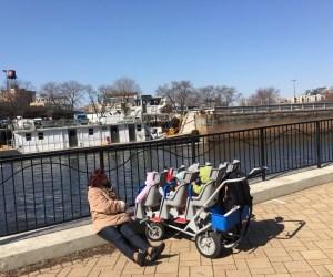 Daycare enjoying warm weather