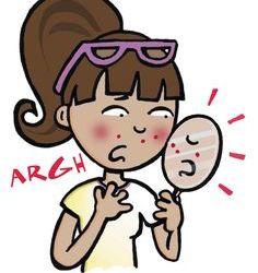 postpartum acne