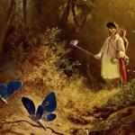Een victoriaanse fascinatie voor vlinders