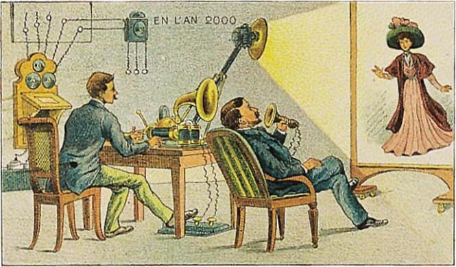 videotelefoon-1910-21ste-eeuw-futuristisch