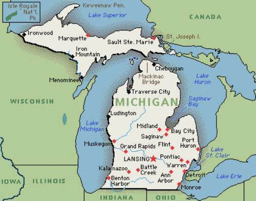 10 Interesting Michigan Facts My Interesting Facts
