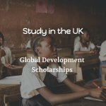 University of Bradford Global Development Scholarships