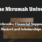 Kwame Nkrumah University (KNUST) Full MasterCard Scholarships