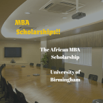 University of Birmingham African MBA Scholarship