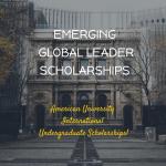 AU EGL International Undergraduate Scholarships