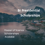 BI Presidential Scholarships – Norwegian Business School