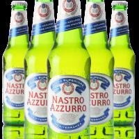 Italiaans bier Peroni - Nastro Azzurro 24 x -33cl