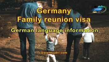 German language exceptions for family reunion visa