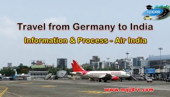 Travel from Germany to India