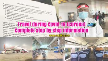 Travel during covid (corona) - Complete step by step information