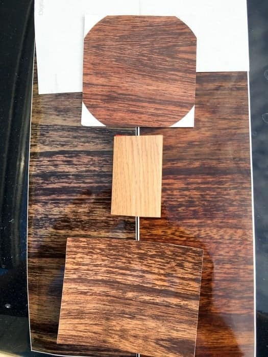 Grand Wagoneer Replacement Woodgrain Vinyl