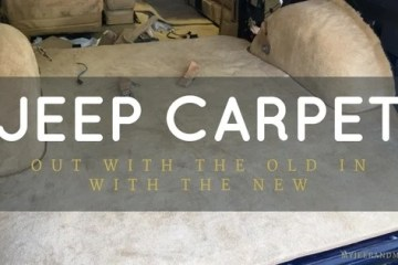 Replacement Jeep Carpet, Jeep Wagoneer, Jeep Grand Wagoneer