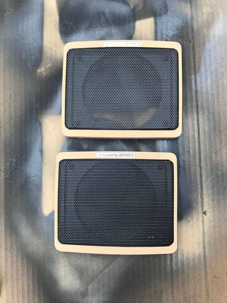 Jeep Grand Wagoneer Speaker Grill Restoration
