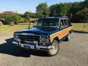 1987 Jeep Grand Wagoneer Photo Gallery
