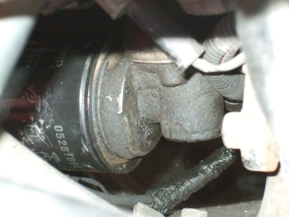 medium resolution of jeep cherokee oil filter adapter