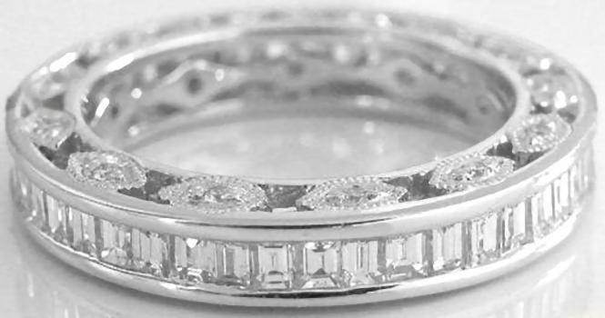 Image result for Baguette rings