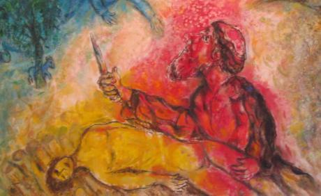 chagall akedah