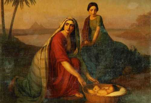 """O monomito de Campbell. """"Mãe de Moisés"""" por Alexey Tyranov"""