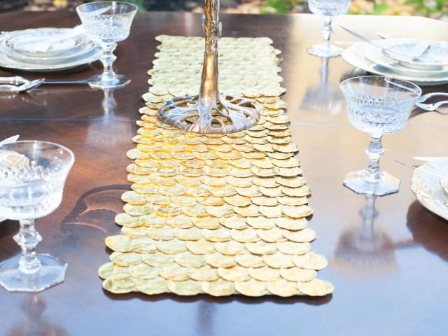 diy thanksgivukkah tablescape ideas