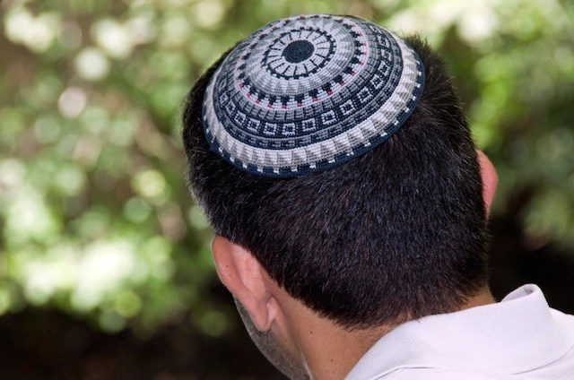 skull cap worn by jew special in jerusalem and over Israel