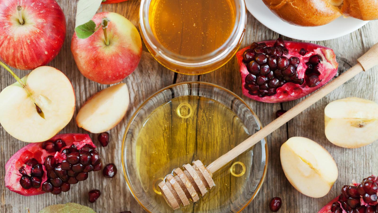 rosh hashana apples