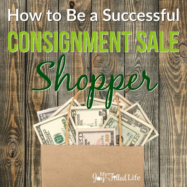 How to Be a Successful Consignment Sale Shopper