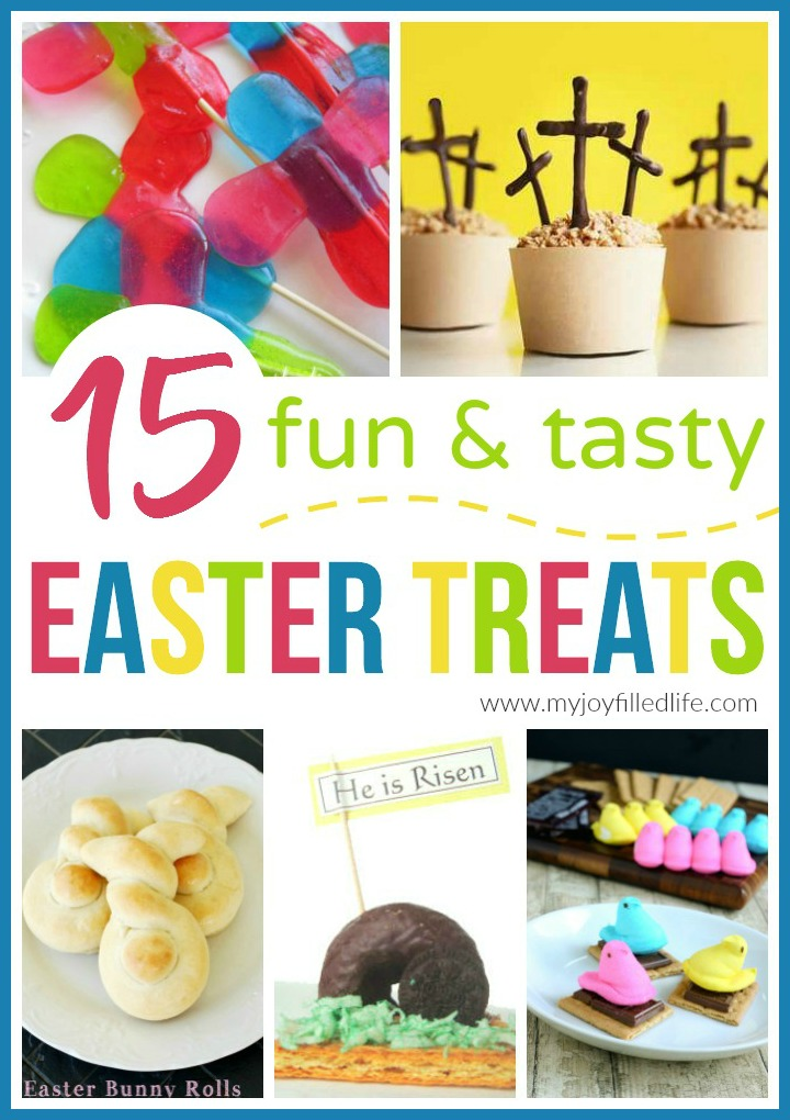 15 Fun And Easy Sewing Projects For Kids: 15 Fun And Tasty Easter Treats