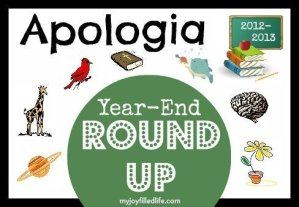 Apologia Year-End Round-Up: 2012-2013 School Year