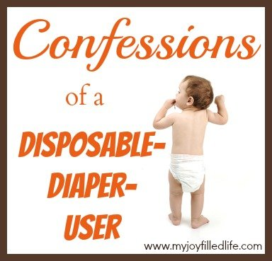 Confessions of a Disposable Diaper User