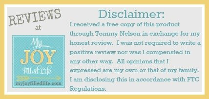 Tommy Nelson Disclaimer