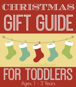 Christmas Gift Guide – For Toddlers