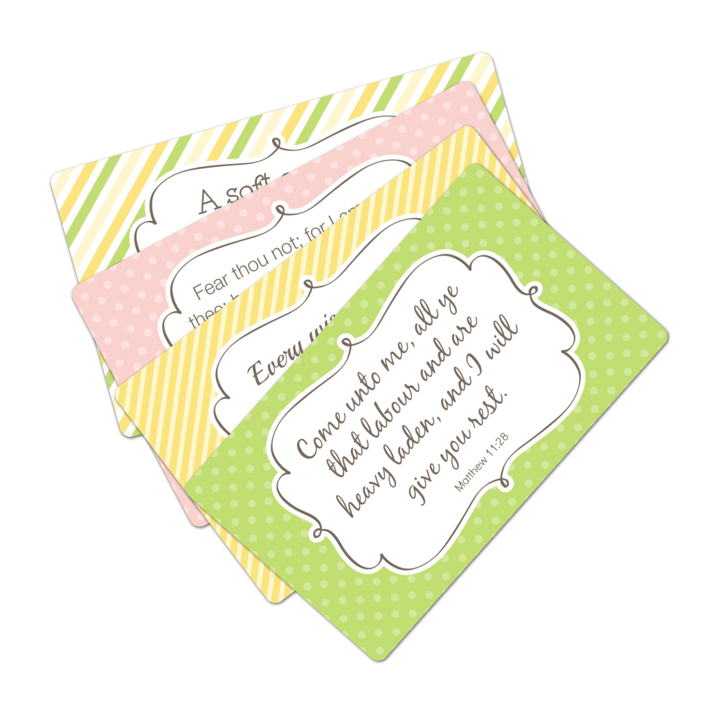 Printable Scripture Cards For Moms
