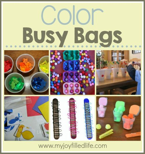Color Busy Bags