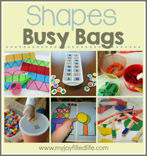 Shapes Busy Bags