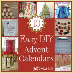 10 Easy DIY Advent Calendars