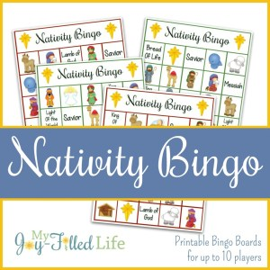 Printable Nativity Bingo Game