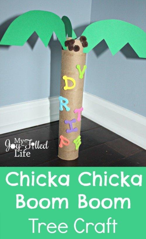 Chicka Chicka Tree Craft