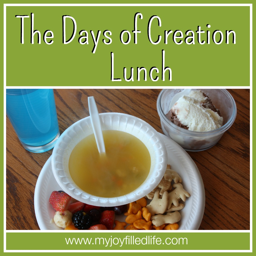 The Days Of Creation Lunch