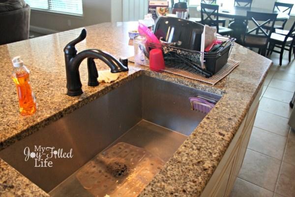 Home Tour Kitchen Sink