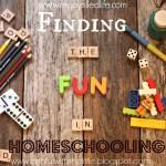 Finding the Fun in Homeschooling