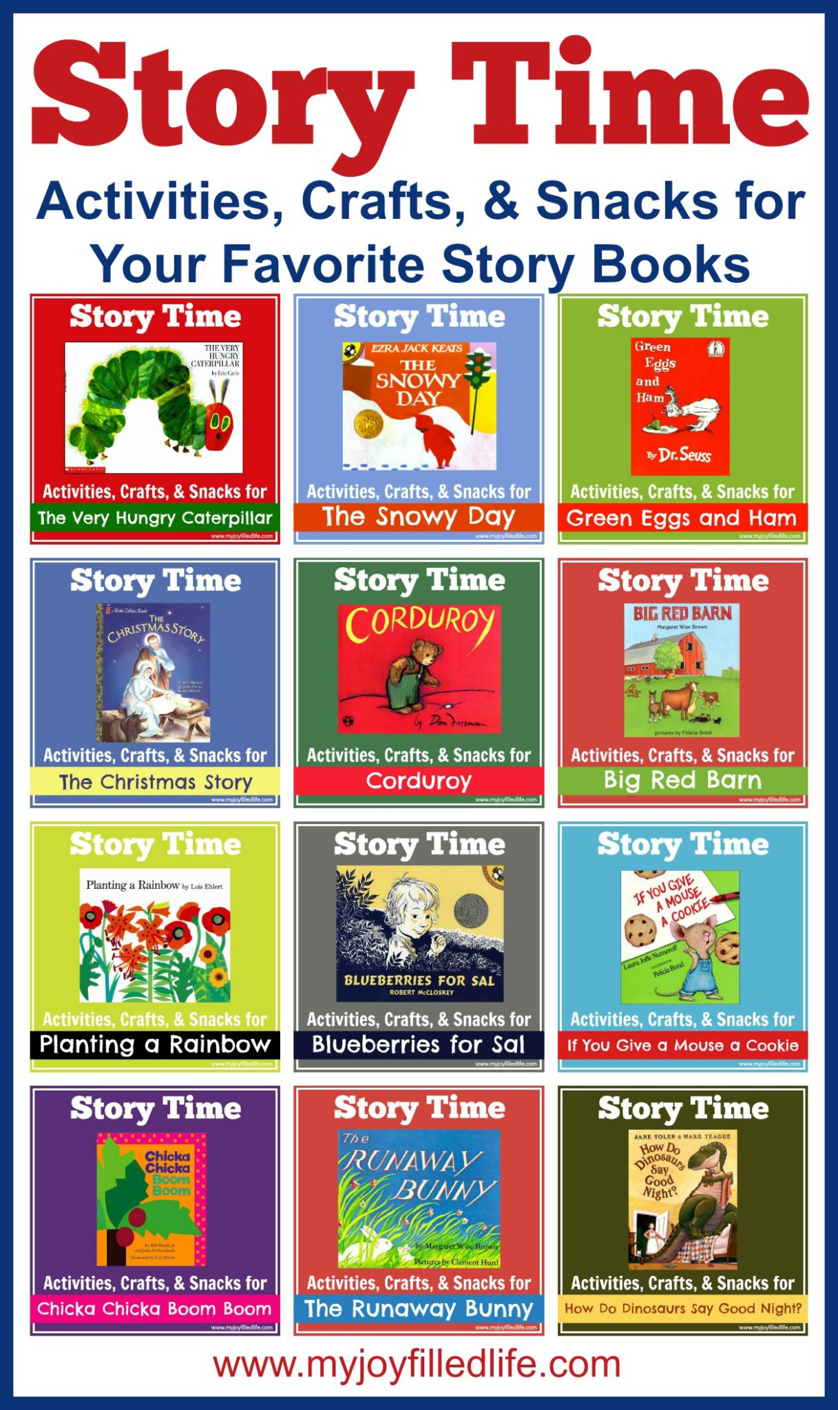 Story Time Activities Crafts Amp Snacks For Your