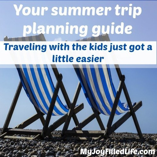 The summer trip planning guide to make traveling with the kids a lot easier this year.