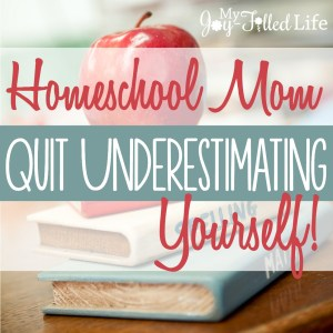 Quit Underestimating Yourself