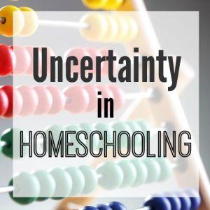 Uncertainty in Homeschooling