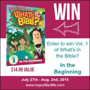 What's in the Bible? DVD Giveaway (Vol. 1)