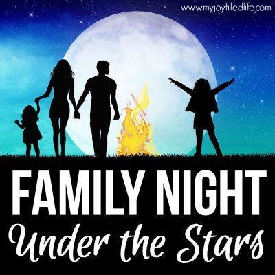 Family Night Under the Stars