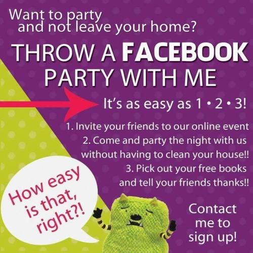 Throw a FB Party